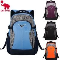 "2014 New Oiwas Backpack Women/men School Bag 14""Laptop Bag Hiking Outdoor Bag 4 Colors B11 SV007376"