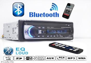 2014 новые стерео mp3-плеер, 12 В автомобиль аудио, FM радио USB / SD / MMC / пульт дистанционного управления / слот для карт, с USB порт, бесплатная доставка