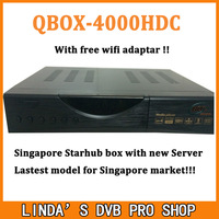 2015 Latest Singapore Starhub HD Cable TV Receiver QBOX 4000HDC Set Top Box Upgraded From Blackbox HDC 808 Plus Support Nagra3