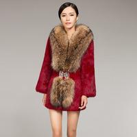 zijindiao женщин подлинной натуральный лисий мех сплайсинга овчины кожаный пуховик с меховой воротник пальто Фокс