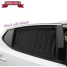 Cortinas de seda cortina universal carro pára-brisa do carro uso sol sombra barato legal proteger 4pcs bloco de vidro / lot estilo do carro frete grátis(China (Mainland))