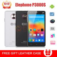 "5"" Elephone P3000S Smartphone MTK6592 Octa Core 2GB/3GB 16GB 4G LTE 3G WCDMA  8.0MP+13.0MP GPS WIFI New Cell Mobile Phone"