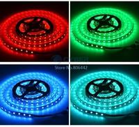 Wholesale 5M SMD RGB 5050 LED Strip light 300 Leds &24 Key IR Remote&12V 5A Red Green Blue Light B16 SV008925
