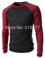 sweater 2014 new arrival pullover sweater mens letter printed o-neck long sleeve man sweater casual slim mens sweaters size 4XL