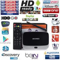 XBMC Fully Loaded Android TV Box QUAD CORE CS918 MK888 Q7 Android Smart tv Free SkySports Arabic iptv Films Kids Adult Channels