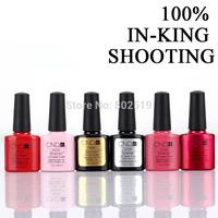 81Pcs/lot 79 Autumn Colors+Base+Top  Hot Sale CND Shellac Soak Off UV LED Nail Gel Polish The Best Gel Polish
