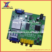 CGA TO VGA Converter, CGA/EGA/YUV  to VGA (1 VGA output) + low