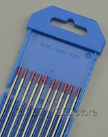 "2% Thoriated Tungsten Electrode WT20 Red TIG Welding Electrode 3/32""x6"" (2.4mmx150mm),10PK"