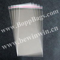 11x24cm Cello Bags / Cellophane Bags with self adhesive tape seal for wholesale and retail & Free Shipping