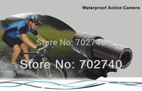 New Mini Outdoor Waterproof Camera sports Recordable camera AT19 Free Shipping