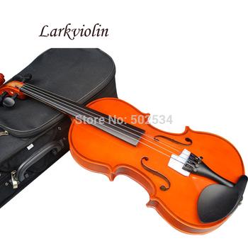 Spedizione gratuita larkviolin's violino 1/4 3/4 4/4 1/2 1/8violin inviare custodia di violino, colofonia