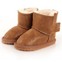 Retail children boots 2014 winter warm Sheepskin snow boots  non-slip children shoes girls boys winter boots kids boots girls