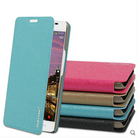 Free shipping 2014 Newest Ultra-thin Contrast color CASE Wallet PU Leather Stand Case For Alcatel One Touch Idol X+ 6043D ZS01