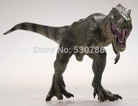 Good quality Jurassic Park 25CM Carnivorous dinosaurs Tyrannosaurus rex Dinosaur Triceratops Spinosaurus Classic Toys For Boys