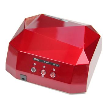 УФ-лампа-1006 для сушки лака ромбовидной формы с долгим сроком службы, 36 Вт, светодиодная подсветка с холодным катодом для лака для ногтей, разные цвета