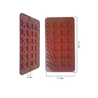 New arrival 24 even Crown Scepter DIY food grade silicone mold, chocolate silicone mold Cake Pan