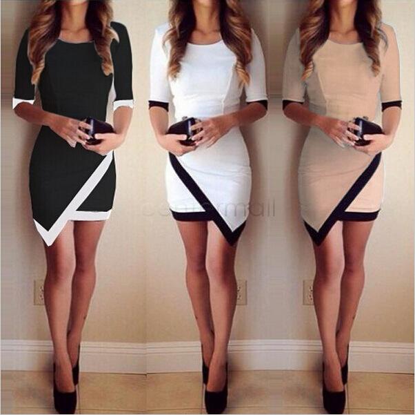 Женское платье OL bodycon vestidos