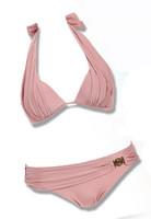женщин кружева крючком рукавов купальники бикини прикрыть пляж платье 4 цвета бежевый белый черный розовый