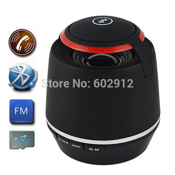Mini Portable Subwoofer Wireless Bluetooth Speaker Boombox Hi-fi Hifi Altavoz Altavoce Parlantes Enceinte w/ Handfree FM Radio(China (Mainland))
