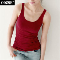 2015 New Fashion Active Loose Style Cotton Solid Women Tank Tops Korean Japanese Style Slim Casual Women Tops Free Shipping J309