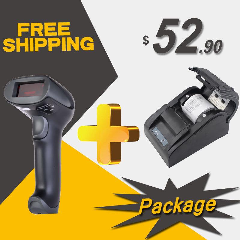 Принтер RADALL RD/& rd/5890t USB 58 pirnter POS RD-5890T + RD-2013 rd glm510gs