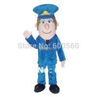 New Arrival Postman Pat Mascot Costume Halloween Costume Christmas Costume Free Shipping FT30009