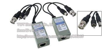 UTP Balun CCTV Balun UPT twisted pair transceiver (video/audio/power) ,10Pair
