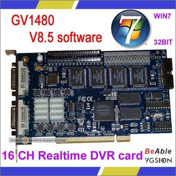 GV-1480 DVI-Type Video Capture Card, CCTV DVR Card