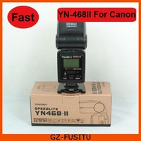 FAST SHIPPING Yongnuo YN-468 II YN-468II ETTL II Flash Speedlite for Canon 60D 50D 40D 30D