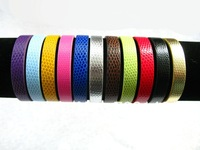 10mm 10pcs PU Wristband Bracelet DIY Accessories