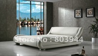 2013 hot selling leather bed
