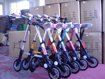 """Free shipping Mini folding bike/ foldable bicycle/ Exercise portable bike with 8"""" wheels,All of the steel durable"""
