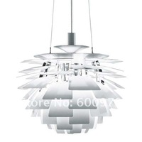 Free shipping 40CM White Color Poul Henningsen PH Artichoke Pendant Lamp