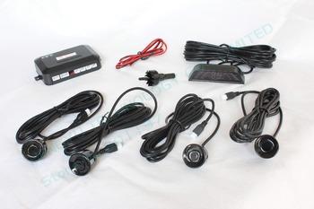 parking assistant system PS-1 with 4 sensors system 12V LED display Indicator parking sensor car reverse radar kit black