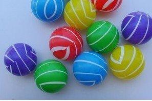 Free Shipping Ocean Ball 500Pcs/lot Corlorful Baby Ball Plastic Ball Toy Ball Product size7*7*7cm(China (Mainland))