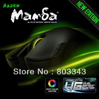 Original 2012 Razer Mamba 4G Laser Gaming Mouse, Original, Brand NEW, Free&Fast Shipping. 6400 DPI