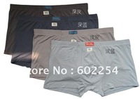 Hot wholesale Free Shipping 100% bamboo Super softness and 4XL 5XL 6XL men's underwear big size boxers