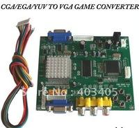 CGA TO VGA Converter, CGA/EGA/YUV to VGA (1 VGA output) + low for game only