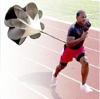"56"" Speed Training Resistance Parachute Umbrella Running Chute & Fitness Explosive Power Training Brand New Free Drop Shipping"