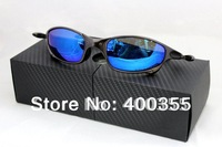 Sport Unisex X -Juliet Plasma Metal Frame Matte Gray Ice Iridium Polarized Sunglasses Blue Lens 04-114A new in original cases
