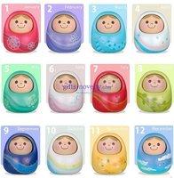 wholesale 20pcs/lot Novelty Unazukin Russian Style Voice controled Nodding baby Doll, Unazukin toy