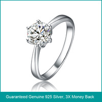 Women 925 silver rings for wedding, 925 sterling silver wedding ring, pure 925 sterling silver wedding band rings (A0502)