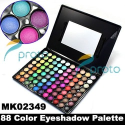 SG POST Freeshipping- Professional 88 Color Eyeshadow Makeup Eye shadow Palette Dropshipping [retail] SKU:M0004(China (Mainland))