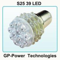 Fre shipping+10pcs/lot+1156 39 LED White car parking light car LED lamp