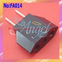 1000pcs/lot Universal Power Plug Adapter,EU to US AC Power Plug Adapter,USA Converter Travel Plug Adapter #FA014