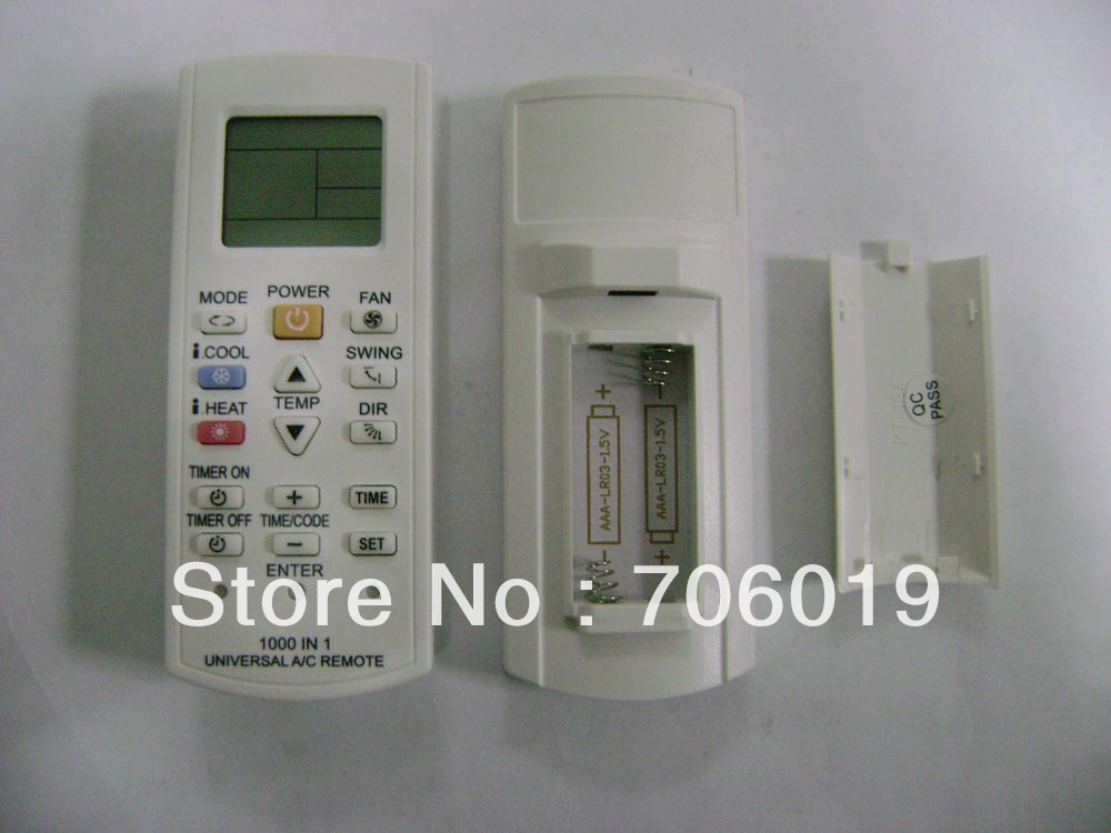 1000 in 1 Universal Air Conditioner Remote New Arrival(China (Mainland))