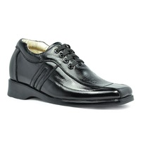 1242C -Casual elevator shoes for men +handmade + genuine leather +100% guaranteed quality