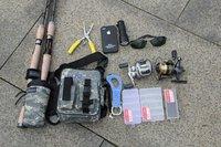 Multi-function fishing  leg bags