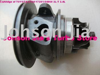 cartucho de chra ct20/17201-54060 turbocompresor para toyota hilux/hiace/land crusier 2.4l/motor: 2l-t