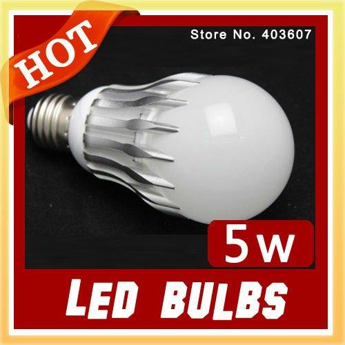 Wholesale LED bulb led lamps WARM WHITE 5W High Power Aluminum Led Light Lamp,Free sample wholesale